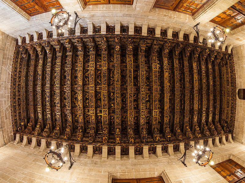 Lonja de la Seda, Valencia, España